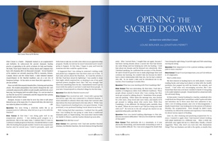 Opening the Sacred Doorway