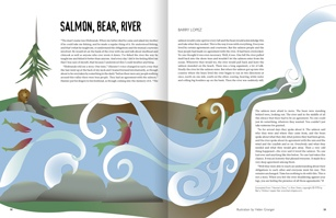 Salmon, Bear, River